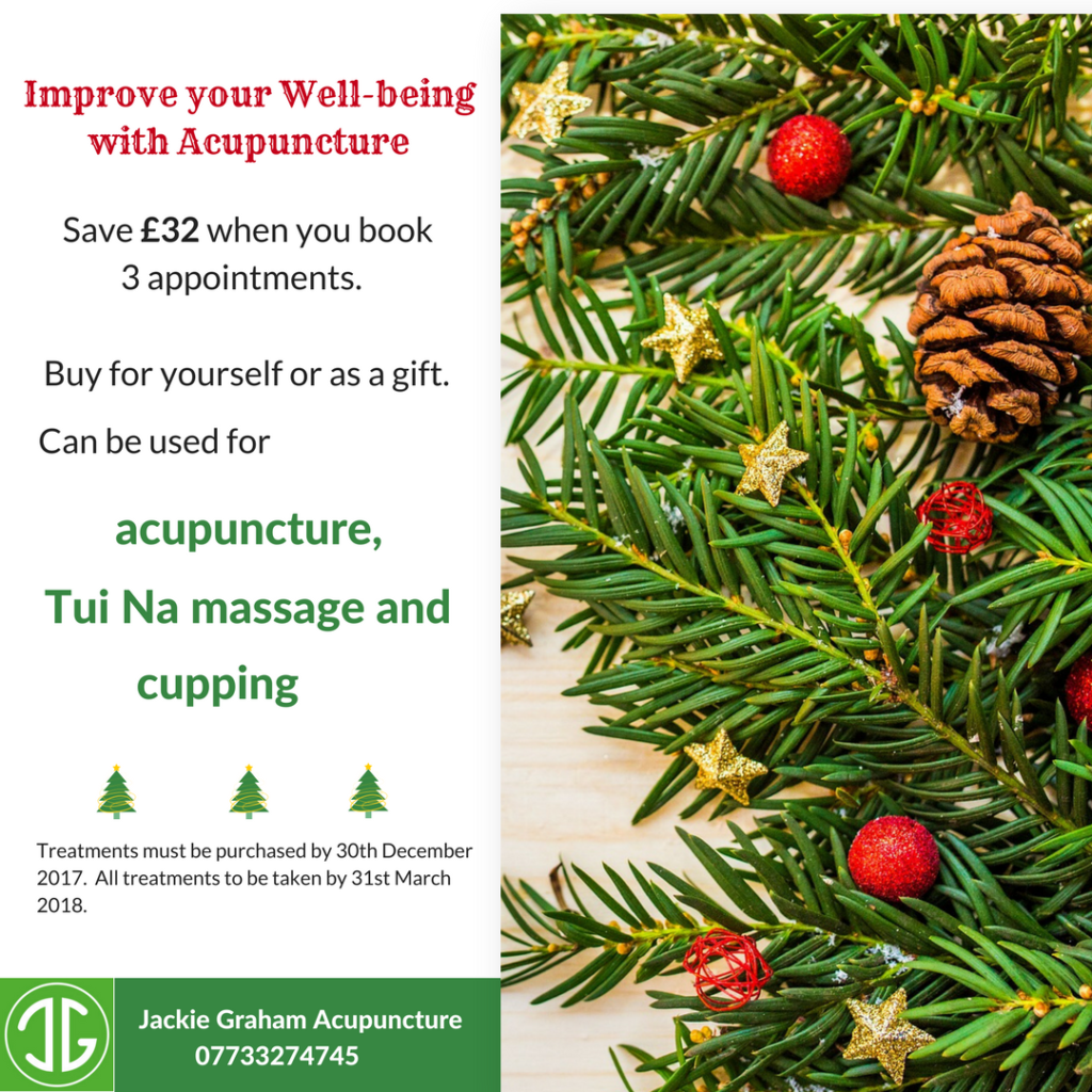 acupuncture christmas